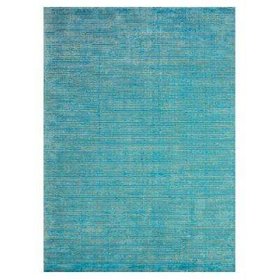Oceans Blue 5 ft. x 8 ft. Indoor Area Rug