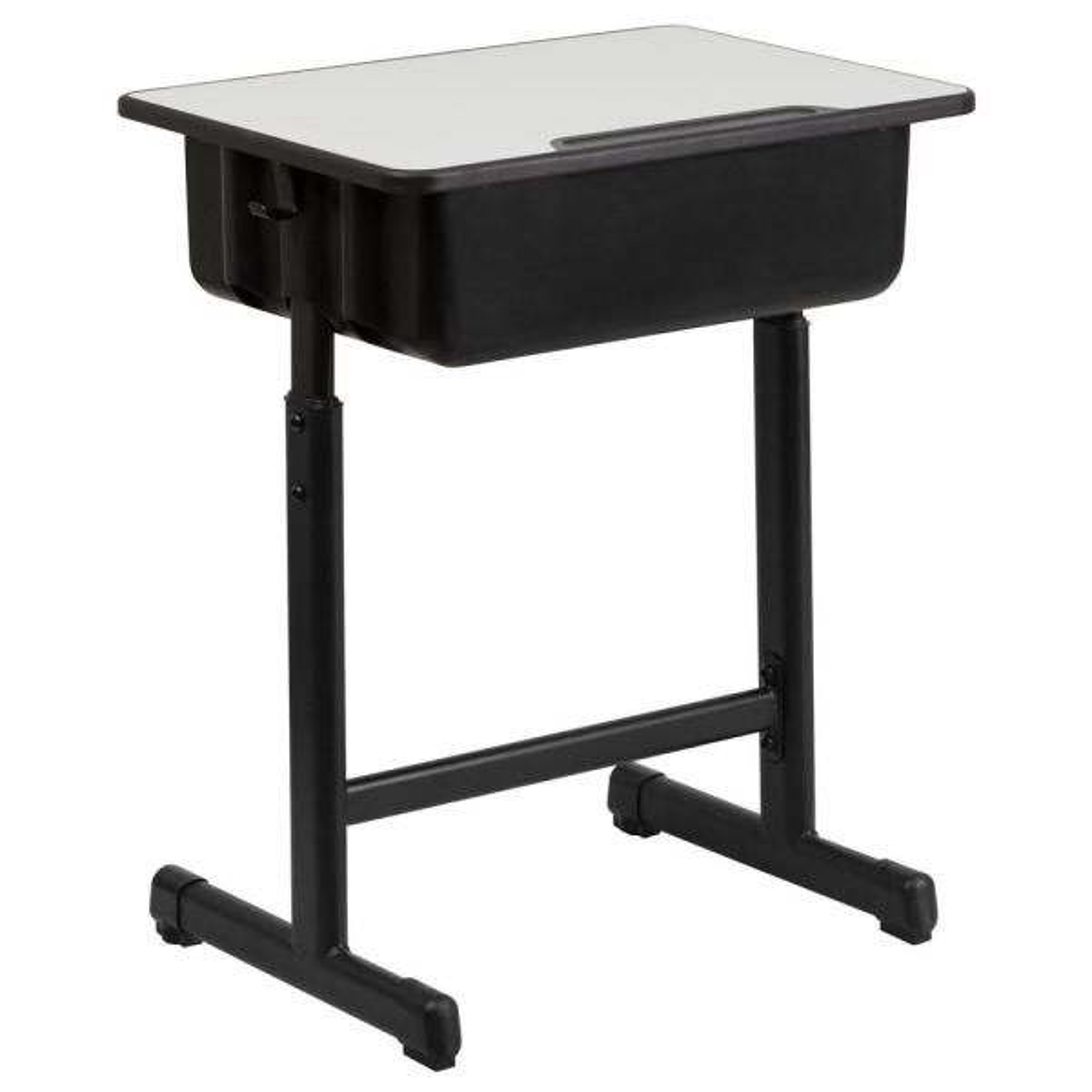 Grey Open Front Student Desks