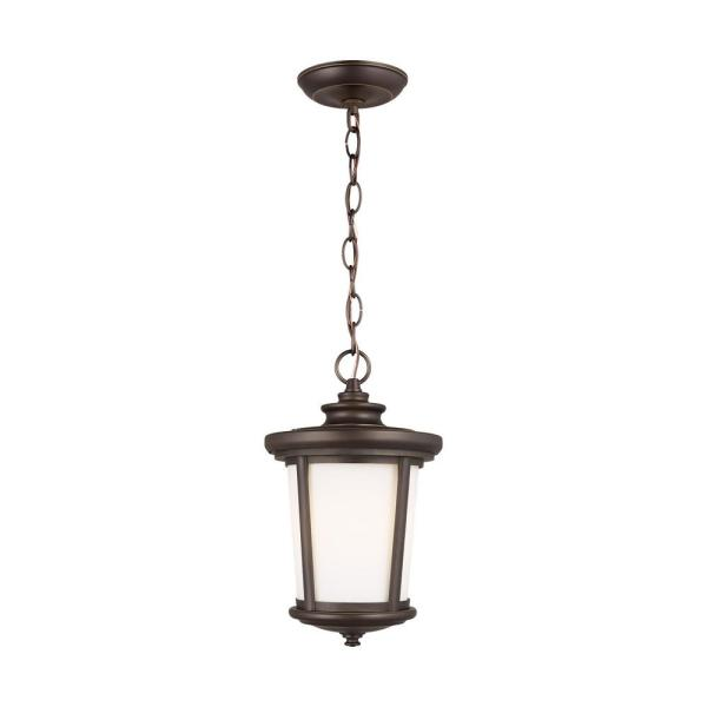 Eddington 1-Light Antique Bronze Outdoor Pendant Light