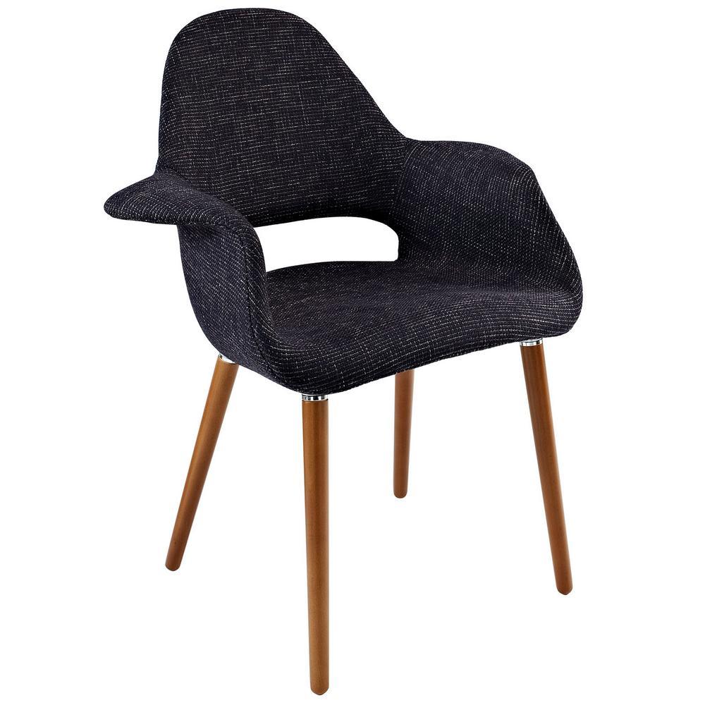 Aegis Black Dining Armchair
