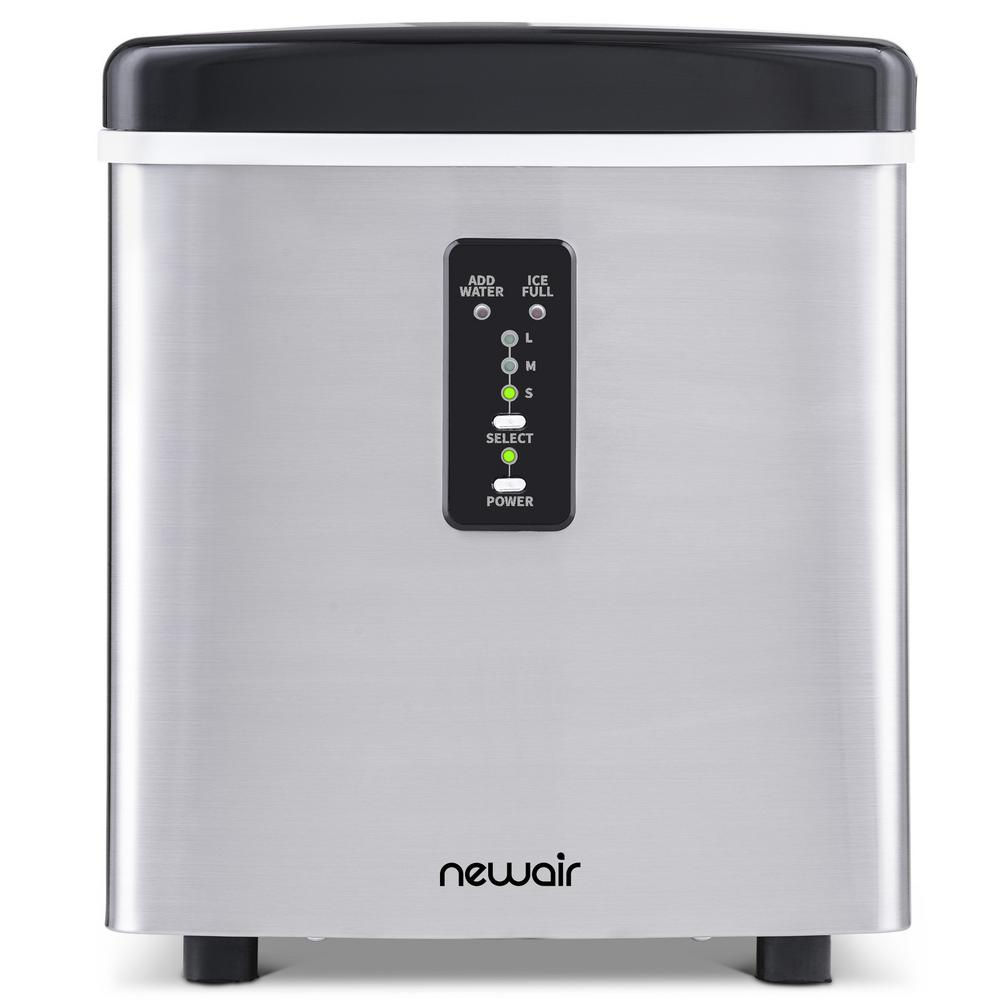 Newair Portable 28 Lb Of Ice A Day Countertop Ice Maker Bpa Free