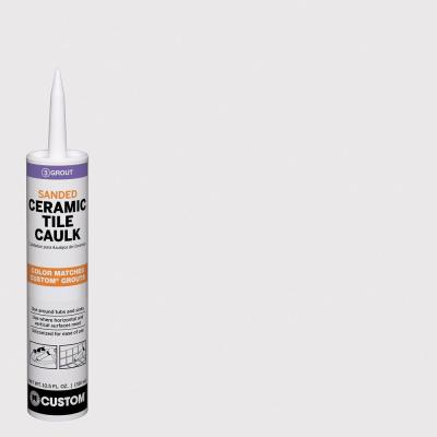 Polyblend #642 10.5 oz. Ash Sanded Ceramic Tile Caulk