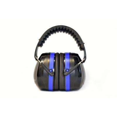 Safety Earmuffs -34dB Highest NRR Professional Ear Defenders for Shooting Hearing Protector Earmuffs in Blue