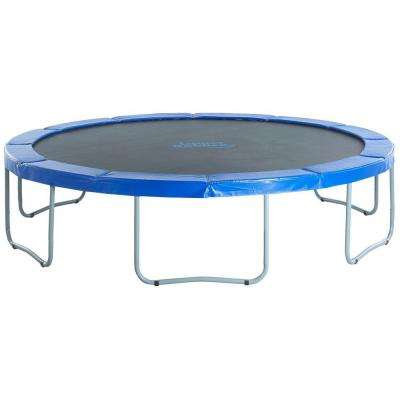 14 ft. Round Trampoline with Blue Safety Pad