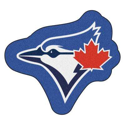 MLB - Toronto Blue Jays 33.2 in. x 30 in. Indoor Area Rug Mascot Mat
