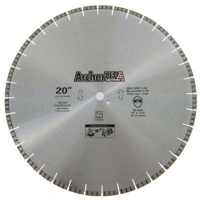 20 in. Diamond Blade for Concrete Cutting