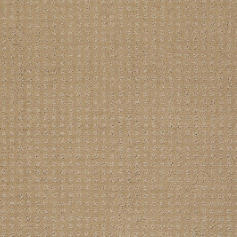 LifeProof Carpet Sample - Out of Sight II - Color Honey Pot Texture 8 in.