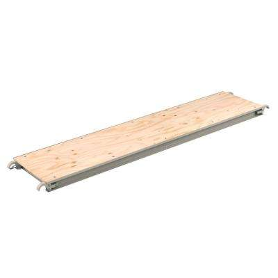 10 ft. x 1.5 ft. x 10 ft. Wood Deck Scaffold Plank