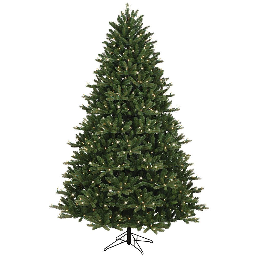 GE 7.5 ft. Just Cut Ez Light Frasier Fir Dual Color LED Artificial ...