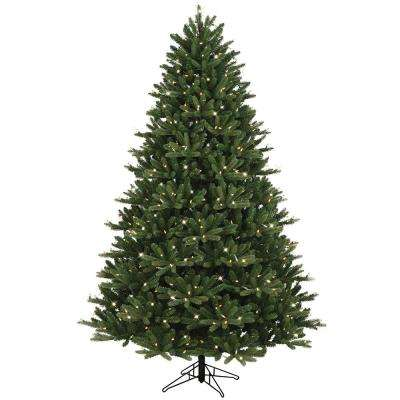 7.5 ft. Just Cut Ez Light Frasier Fir Dual Color LED Artificial Christmas  Tree - 7.5 Ft - GE - Pre-Lit Christmas Trees - Artificial Christmas Trees