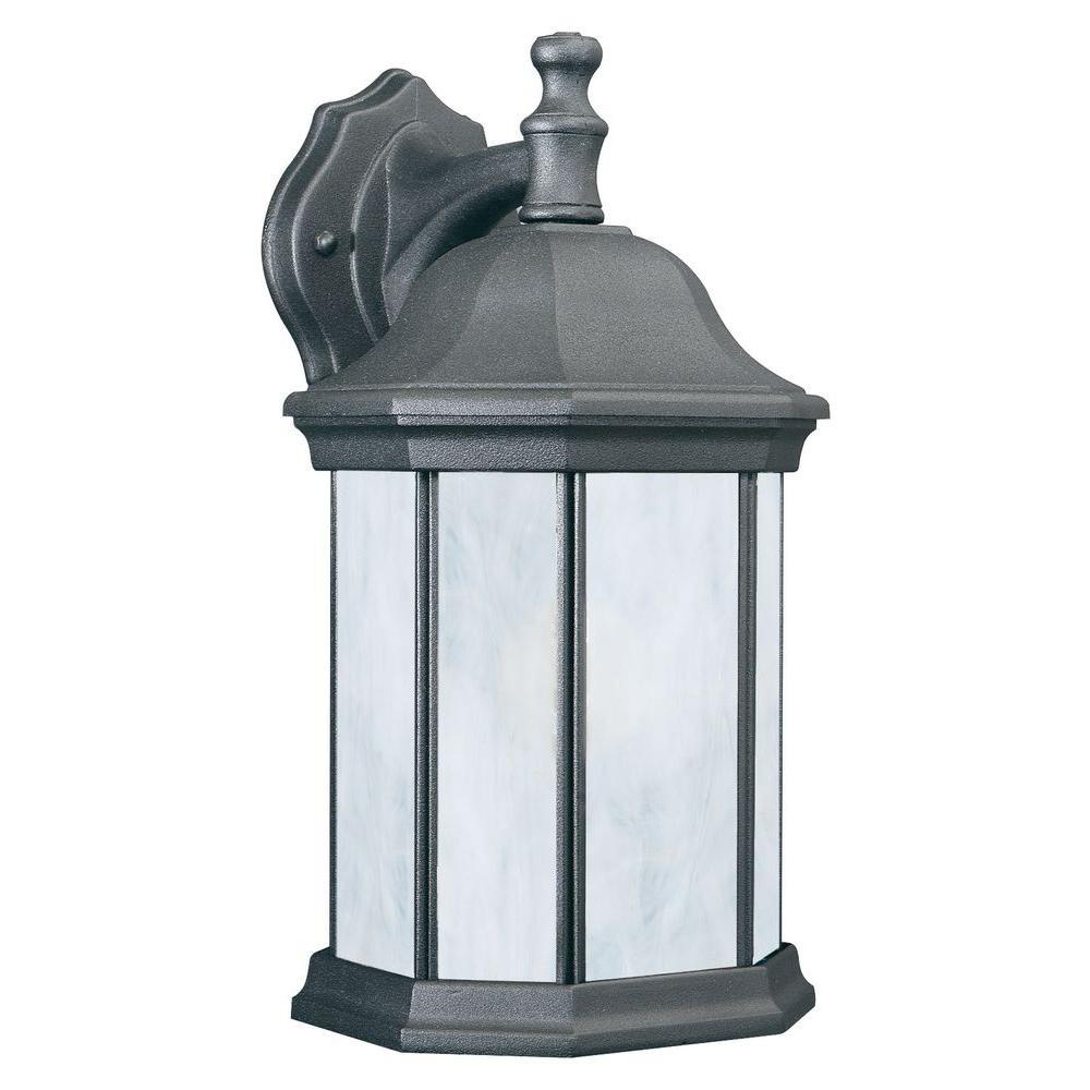 Hawthorne 1-Light Black Outdoor Wall Lantern