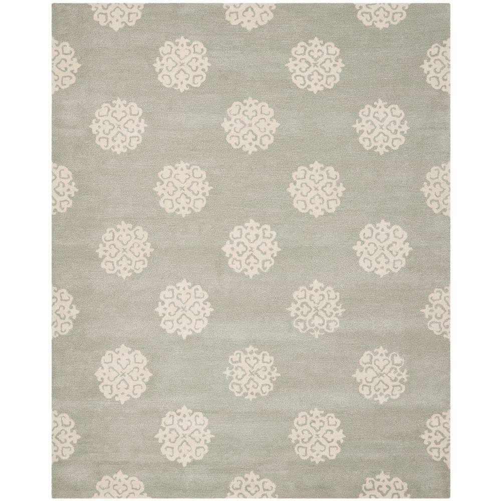 Safavieh Soho Grey Ivory 9 Ft 6 In X 13 Area Rug Soh724c 10 The Home Depot
