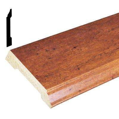 1/2 in. x 3-7/16 in. x 96 in. Polystyrene Whiskey Maple Base Moulding (Pack of 5)