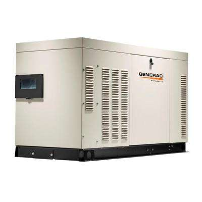 22,000-Watt 120-Volt/240-Volt Liquid Cooled Standby Generator Single Phase with Aluminum Enclosure