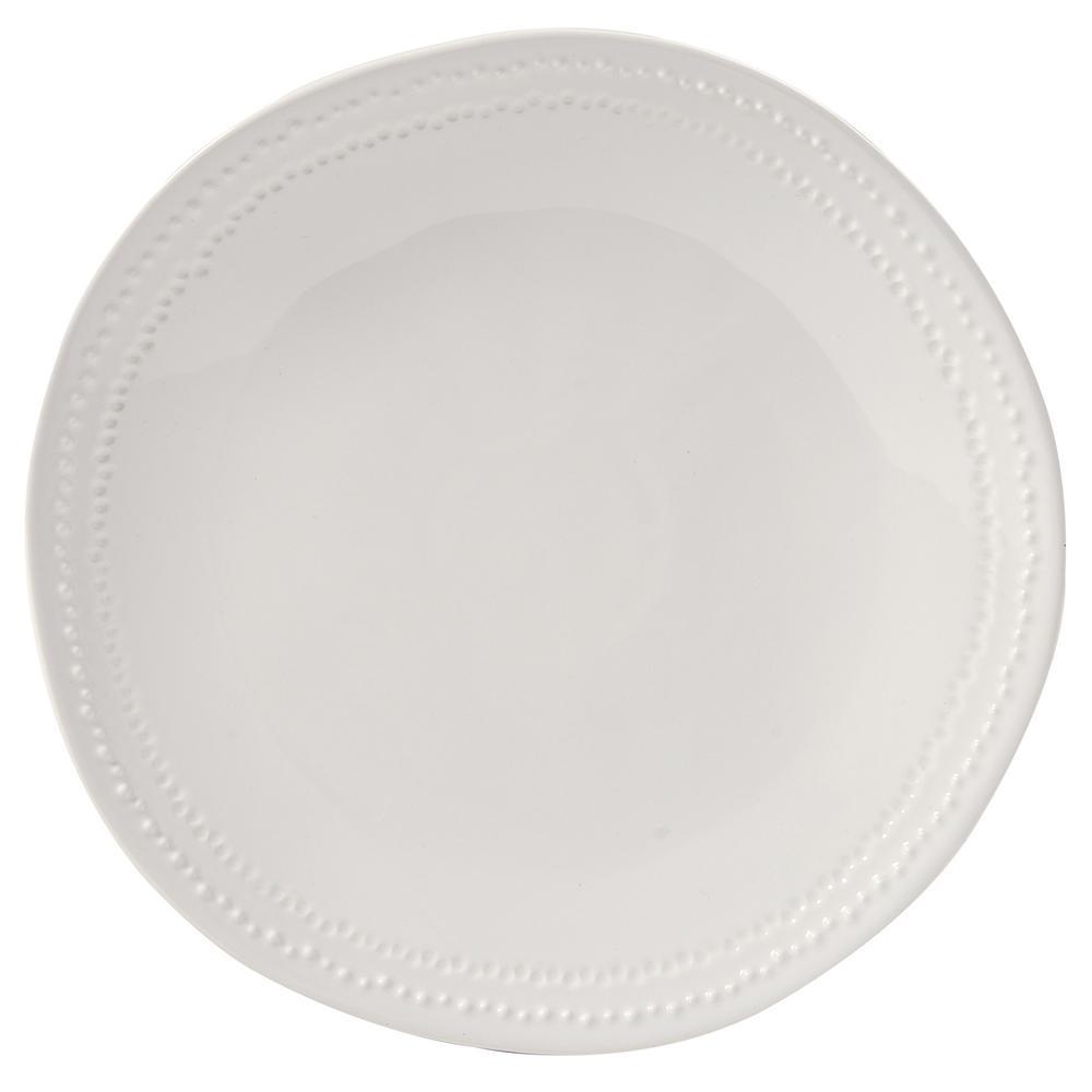 Peyton White Dinner Plate (Set of 4)