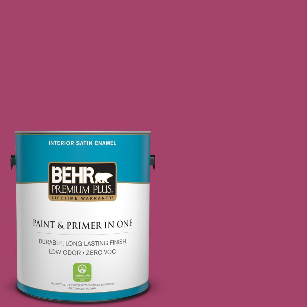 BEHR Premium Plus Home Decorators Collection 1 Gal. #HDC SM14 1 Fuschia