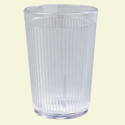 Carlisle 8 oz. SAN Plastic Tumbler in Clear (Case of 48) by Carlisle