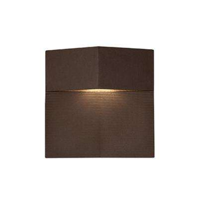 Oswego Esspresso Outdoor Integrated LED Wall Mount Sconce