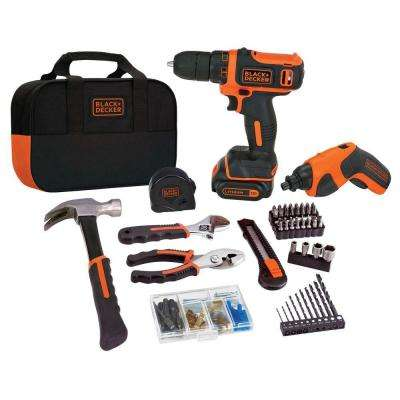 12-Volt MAX and 4-Volt MAX Lithium-Ion Cordless Combo Kit (2-Tool)