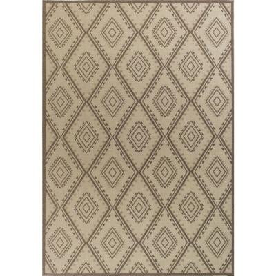 Tahoe Ivory Bungalow 8 ft. x 11 Area Rug