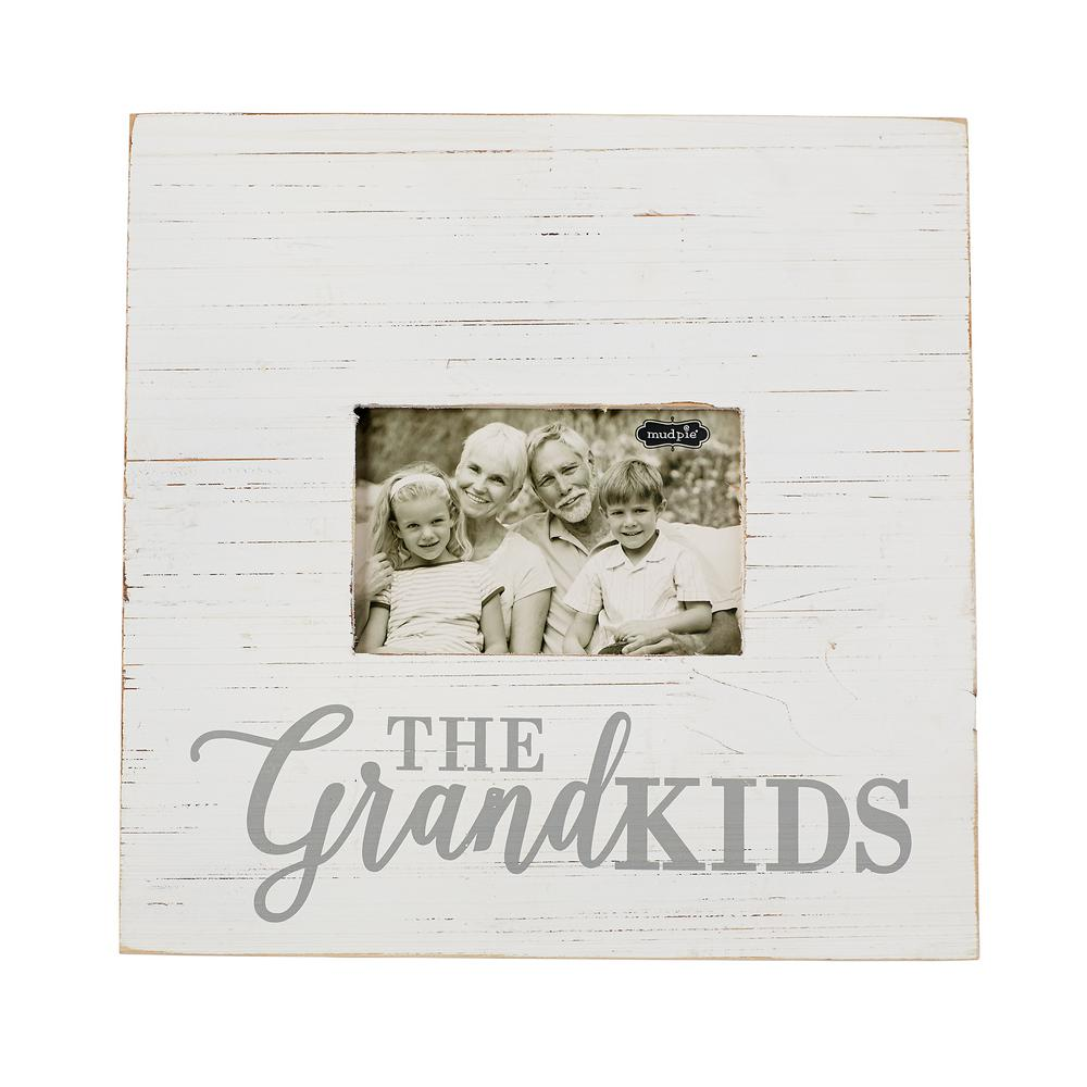 distressed wood picture frames wooden white painted distressed wood picture frame grand kids in