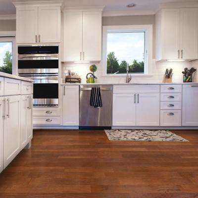 Brushed Hickory Cashmere 3/8 in. T x 4-3/4 in. W x Varying Length Engineered Click Wood Flooring (924 sq. ft. / pallet)