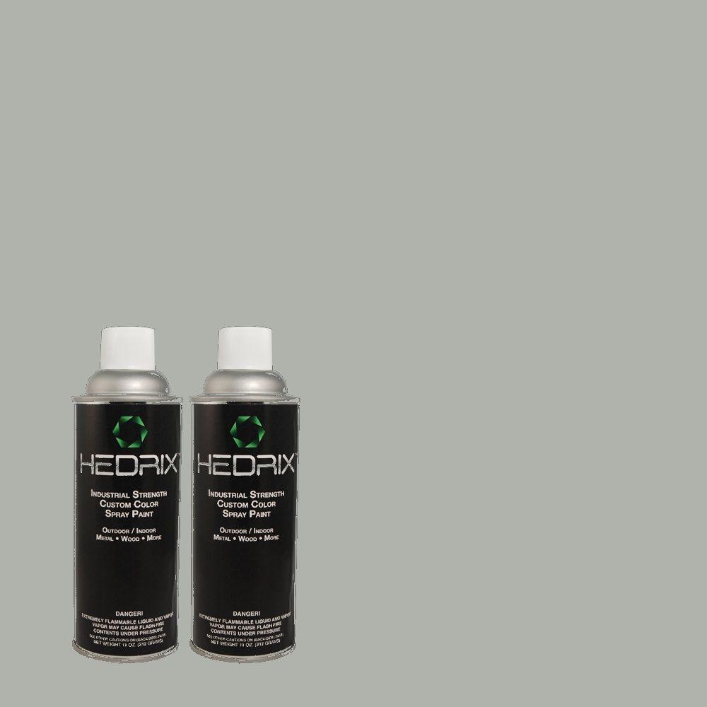 Hedrix 11 oz. Match of C40-74 Provincetown Semi-Gloss Custom Spray Paint (2-Pack)