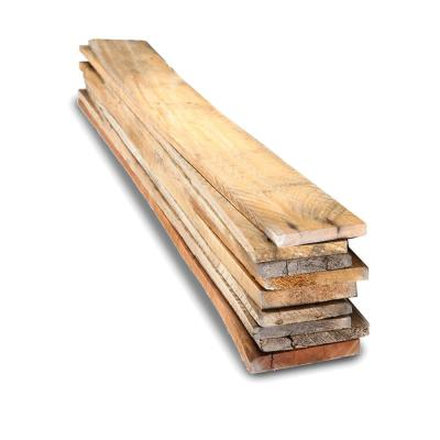 1 in. x 4 in. x 3.5 ft. Reclaimed Pallet Boards (9-Pack)
