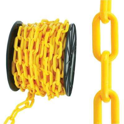 #8 x 50 ft. Yellow Plastic Chain