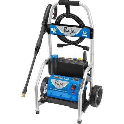 1800 PSI 1.2 GPM Electric Pressure Washer