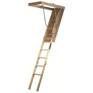 Louisville Ladder Premium Series 7 ft. - 8 ft. 9 in., 22.5 in x 54 inch Wood... by Louisville Ladder