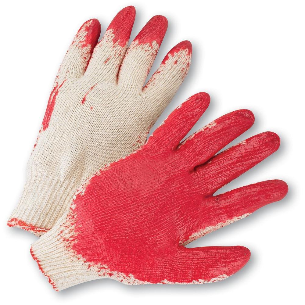 Economy Latex Coated Knit Dozen Pair Gloves