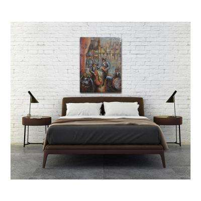 """29 in. x 39 in. """"Jazz Band"""" Metal Wall Art"""