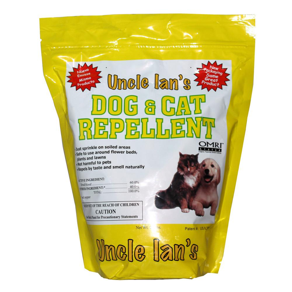 Uncle Ian's 2.3 lb. Dog and Cat Repellant