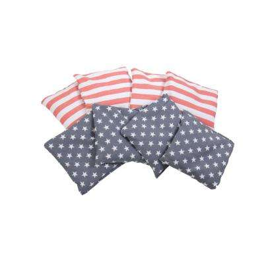 Patriotic 6 x 6 Bean Bags