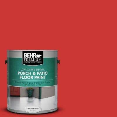 1 gal. #S-G-180 Grenadine Low-Lustre Porch and Patio Floor Paint