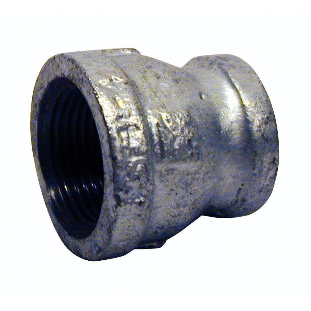 1-1/2 in. x 3/4 in. Galvanized Malleable Iron FPT x FPT