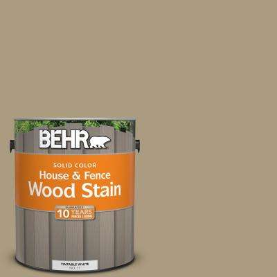 1 gal. #BNC-16 Winter Sage Solid Color House and Fence Exterior Wood Stain