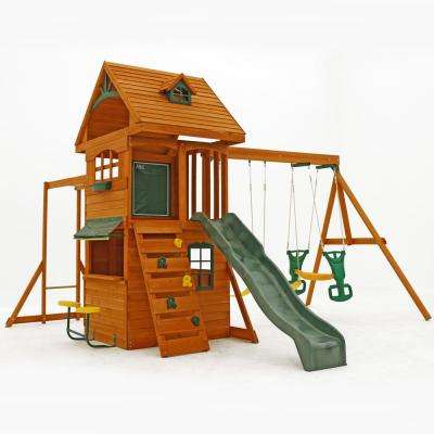 Ridgeview Deluxe Clubhouse Wooden Playset