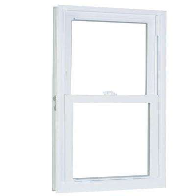 39.75 in. x 53.25 in. 70 Series Pro Double Hung White Vinyl Window with Buck Frame