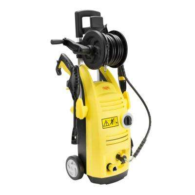 BY01-VBS-WTR 1500 PSI 1.60 GPM 13 Amp Electric Pressure Washer with Hose Reel