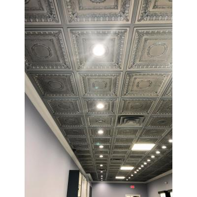 Silver Drop Ceiling Tiles Ceiling Tiles The Home Depot