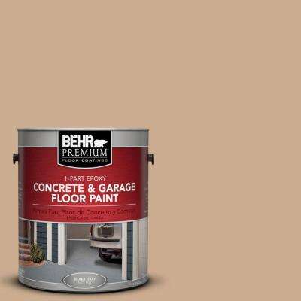 1 gal. #PFC-23 Tan 1-Part Epoxy Concrete and Garage Floor Paint
