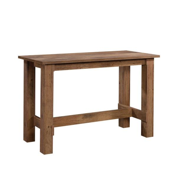 Boone Mountain Vintage Oak Engineered Wood Counter Height Dining Table