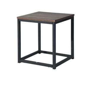 Deals on FurnitureR Coffee Table End Table OAK 35 x 35 x 40 cm