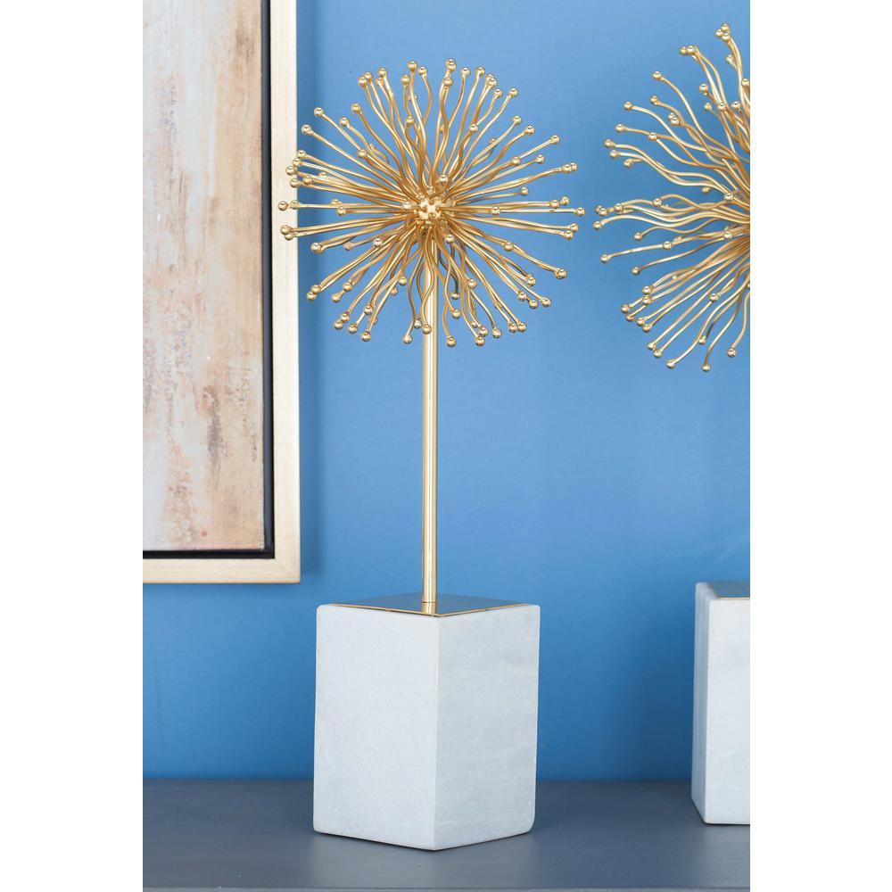 19 in. Star Decorative Sculpture in Gold