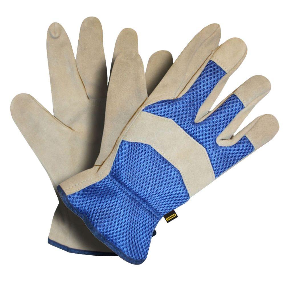 Stanley Mesh Back Split Cowhide X-Large Driver Glove