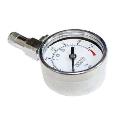 2 in. Tire Pressure Gauge (0-35 psi)
