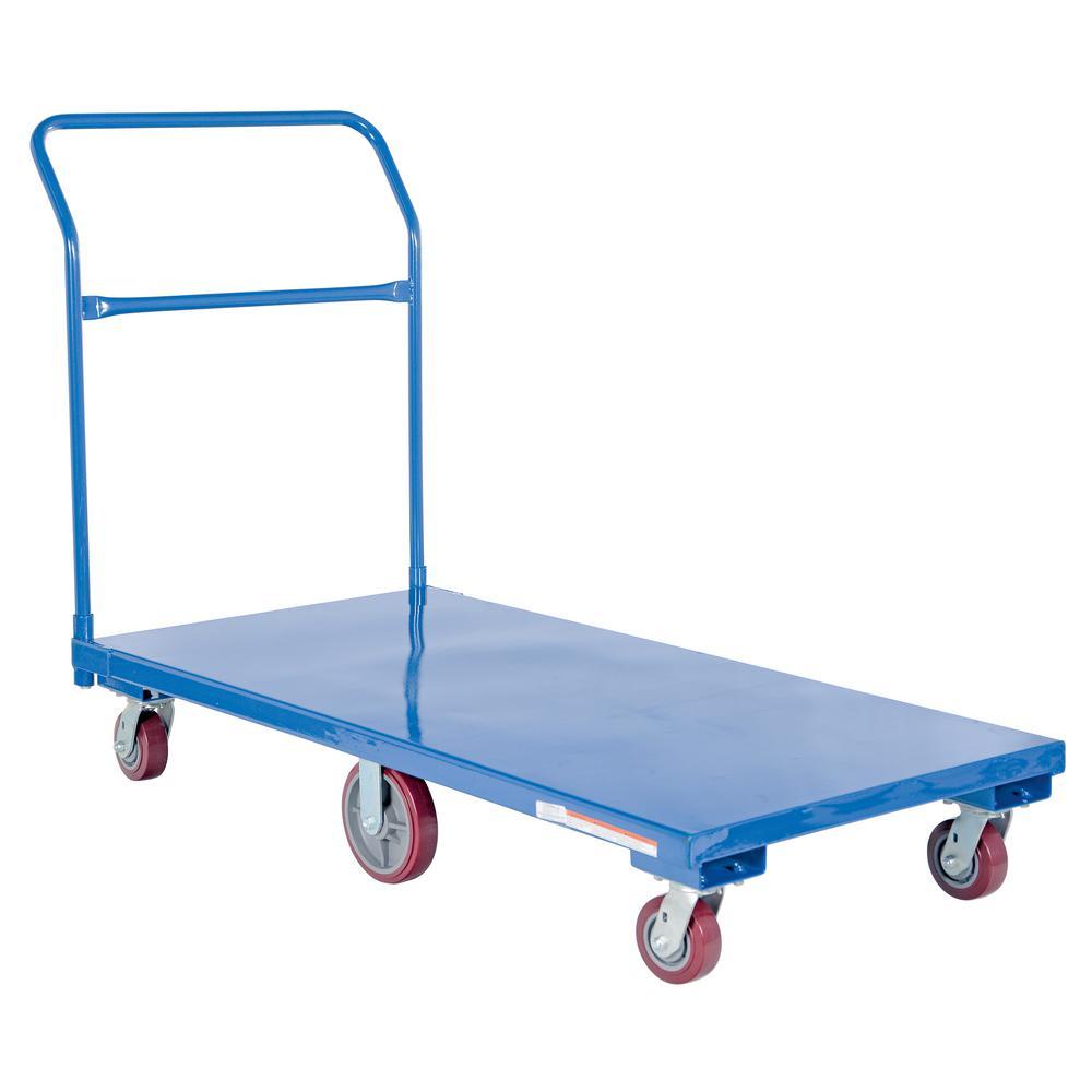 Vestil 2,000 lb. 60 inch x 30 inch x 42.5 inch Flat Bed Cart by Vestil