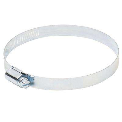 4 in. Metal Worm Drive Clamp